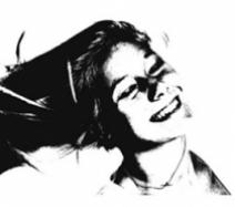 ung smilende pige